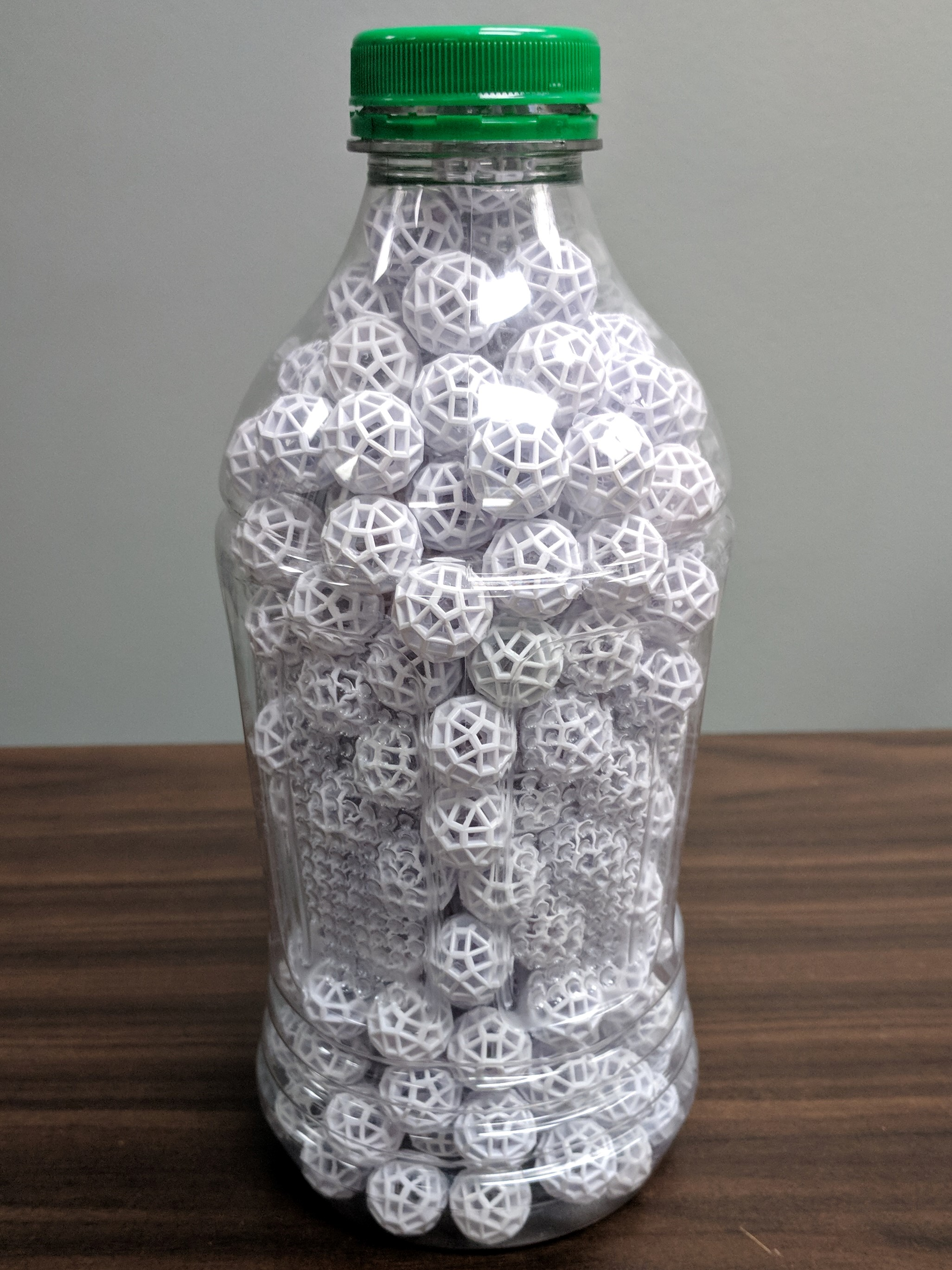 Filled Bottle